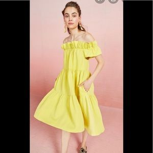 NWT Ulla Johnson Olivia Dress - Citrine